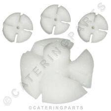 MEIKO PACK OF 4  x 0620121 FLAT RINSE INSERT JET SWIRLS ECOSTAR 530F DISHWASHER
