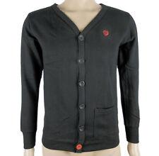 Adidas neo señores blazer Cardigan chaqueta gris nuevo talla s