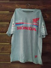 Troy Lee Designs HRC Honda Wing T-Shirt Dunlop Yoshimura Twin Air Motocross