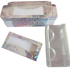 Sevmellin 30sets Empty Eyelash Packaging Box False Eyelash Boxes Lash Paper Case