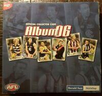 Official AFL Collector Card Album 2006  (192 card set)