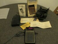 "NOS 1977 TEXAS INSTRUMENTS ""TI PROGRAMMER"" CALCULATOR in BOX - UNUSED/NEAR MINT"