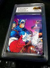X-MEN Authentic MOVIE Memorabilia ROGUE Worn JEANS W/ Encased Card #23 CERTIFIED