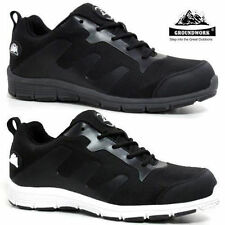 WOMENS LADIES ULTRA LIGHT WEIGHT WORK STEEL TOE CAP SAFETY SHOES TRAINERS BOOTS