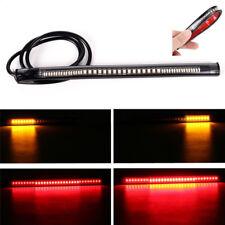 48 LED Universal Flexible Motorcycle ATV Light Strip Tail Brake Stop/Turn-Signal