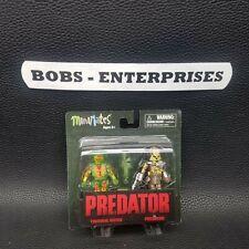 "THERMAL DUTCH & CLASSIC PREDATOR Predator Minimates 2"" inch Figures 2-pk mm-2"