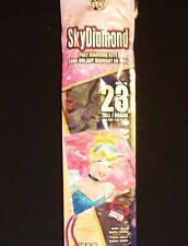 Large Princess Cinderella Diamond Top Kite Ships In Mailing Tube