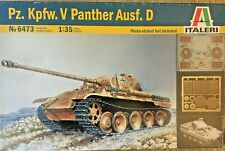 1/35 German Panther Ausf. D w/ photo etch ~ Italeri No. 6473