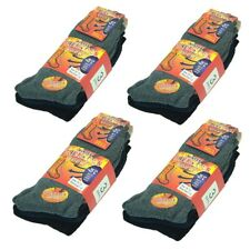 New (THERMAL 3C) 12 Pairs For Mens Winter Warm Boots Wool Cotton Crew Socks 9-13