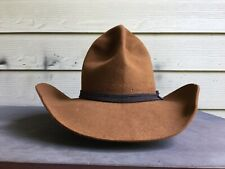 Big Stetson Beaver Texas Vintage Old West Cowboy Hat 7 3/8 SASS Gus 59Cm Tom Mix