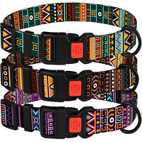 Dog Collar Adjustable Nylon Pet Collars for Small Medium Large Dogs Puppy