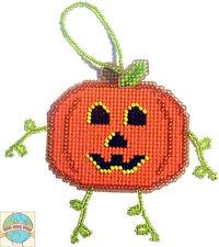 Cross Stitch Kit ~ Halloween Jack-O-Lantern Pumpkin Buddy #K006