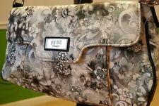 Gigi Hill  Grey / White Shoulder Bag!  NWOT!