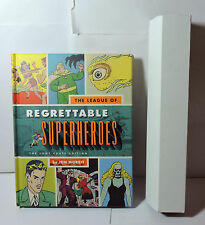 Loot Crate July 2015  League of Regrettable Superheroes Hard cover book & Poster