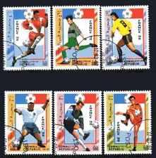 Football Somalie (27) série complète 6 timbres oblitérés