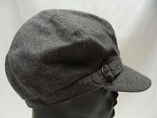 NINE & CO. BY NINE WEST - GRAY - WOOL BLEND - GATSBY STYLE CAP HAT