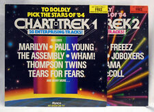 Pop Sampler - Chart Trek Volume 1 and 2 vinyl LP records RON LP 8A/B Near Mint