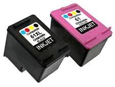 2PK For HP 61XL HP 61 CH561WN CH562WN New Gen Deskjet 2546 2547 2549 3000 3050