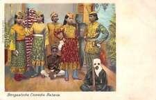 Batavia Indonesia Bengaalsche Comedie Theatre Performance Postcard J76422