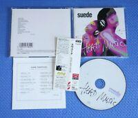 Suede - Head Music, Japan CD Obi +1 Bonus Track