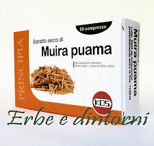 MUIRA PUAMA Estratto secco titolato 60 compresse - Afrodisiaco, energizzante