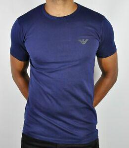 Emporio Armani EA7 Crew Neck Eagle Logo T-Shirt For Men