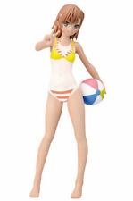 To Aru Kagaku no Railgun S Misaka Mikoto Summer Beach Tanlines PM Figure