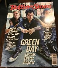 Rolling Stone Magazine Green Day September 22, 2016 No Label Free Ship