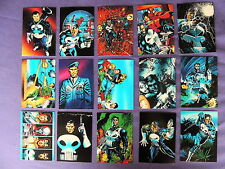 PUNISHER WAR JOURNAL ENTRY SET OF 90 TRADING CARDS MADE BY COMIC IMAGES IN 1992