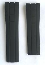 Original MIDO Multifort Black Rubber 23mm Band Strap for Back-Case M005614A