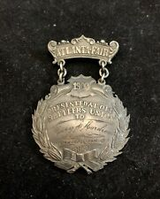 1903 Old Settlers Union Atlanta Fair (Illinois) Medal Token Badge