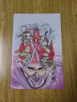 Teenage Mutant Ninja Turtles #110 Peach Momoko Virgin Variant ComicTom101 NM