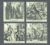 Charles Dickens-Great Britain mnh set-Literature - Art-