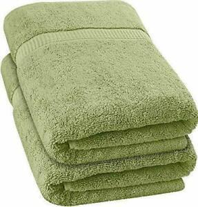 "Bath Towel Large Sets Packs  27""x52 "" 600 GSM 100% Cotton Highly Absorbent"