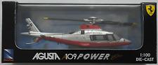 "NewRay - Agusta A109 Power Elite ""Ferrari"" Hubschrauber / Helicopter 1:100 OVP"