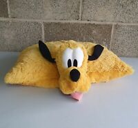 "PLUTO Disney Parks Official Pillow Soft Toy 20"" Foldable Plush Cushion"