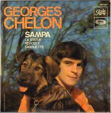 """GEORGES CHELON """"SAMPA"""" 60'S EP  PATHE 1081 Dédicacé !"""