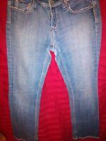 "VIGOSS Women's ""Tokyo"" Boot Cut Distressed Jeans Medium Wash Size 5"