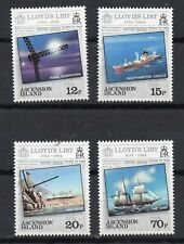ASCENSION STAMPS 1984 LLOYDS LIST SG359/62  MINT NEVER HINGED