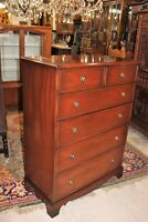 English Mahogany Reprodux Chest of Drawers, 6 Drawer Cabinet | Bedroom Furniture