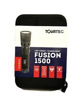 Tovatec Fusion 1500 Video/Flashlight Dive Light 100M New in Case Rechargeable