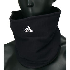 Adidas Fleece Neck Warmer Football Soccer Scarf Winter Gaitor Ski Tube Black