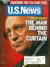 2003 U.S. News & World Report Magazine: Dick Cheney The Man Behind the Curtain