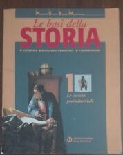 Le basi della storia 1 - AA.VV. - Bruno Mondadori,2003 - A