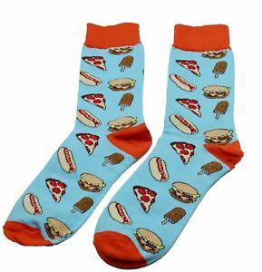 High Quality Cotton Hamburger Iceream Pizza Hot Food Funny Socks For Men/ Lady