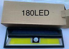 180 LED Solar Lamp Outdoor Garden Yard Waterproof PIR Motion Sensor Wall Light