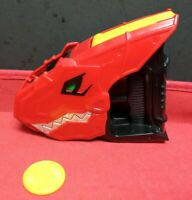 Power Rangers Dino Charge Red T-Rex Disc Launcher Only 1 Disc No Chargers