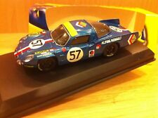 ALPINE A210 LE MANS  1968 N°57  1/43 TOP MODEL MADE IN ITALY