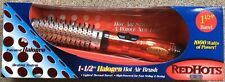 "Hot Tools Professional RedHots 1 1/2"" Halogen Hot Air Brush 1000 Watt ~ New"