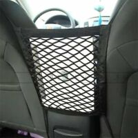 Auto Car Seat Side Storage Mesh Net Pouch Bag Phone Holder Pocket Organizer rw